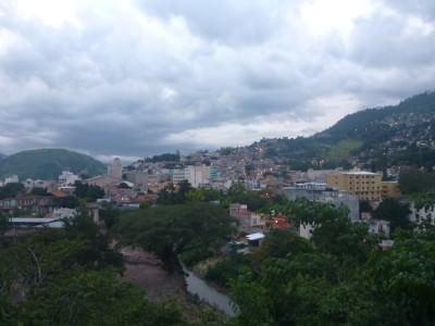 backpacker tegucigalpa