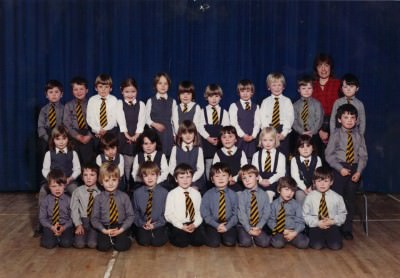 My P1 Class from 1984 - 1985 - Miss Prestons.