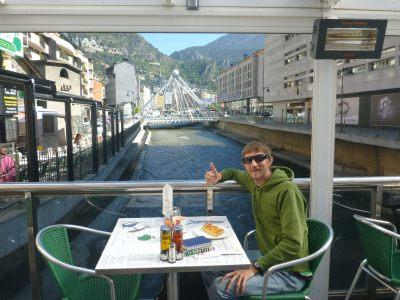 Breakfast by the Riu Gran Valira
