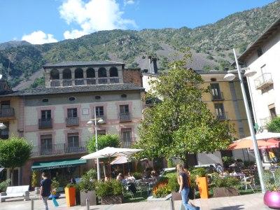 Barri Antic - Andorra's Old Town.