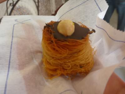 Hazelnut and chocolate - Middle Eastern style.