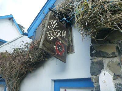 The local pub - the Braddon.