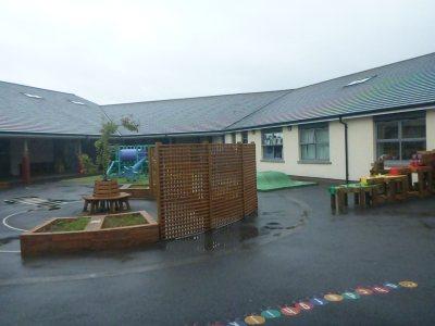 New playgrounds.