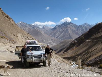 Nick and Dariece Travelling Pamir Highway, Tajikistan