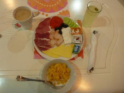 Breakfast in Hostel Old Plovdiv - splendid!