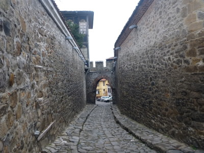 Perfect place to stay when backpacking the Old Town of Plovdiv in Bulgaria.