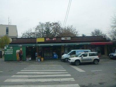 Local neighbourhood shops.
