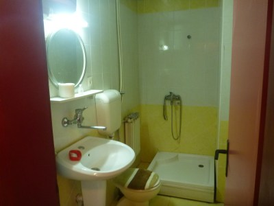 Decent ensuite with hot water.