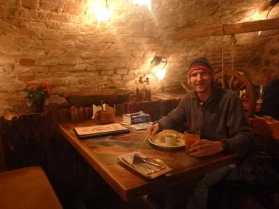 Dinner at Forto Dvaras, Vilnius.