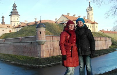 World Travellers: Katie with Yuliya in Belarus