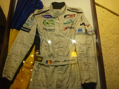 Mihai Marinescu's racing gear