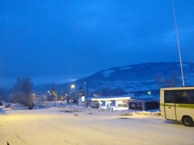 Dawn breaking in Voss, Norway