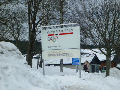 Staying at the Olympiatoppen Sports Hotel in Oslo, Norway