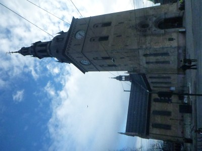 Oslo Cathedral (yes, I've tried to turn the photo round and failed!)