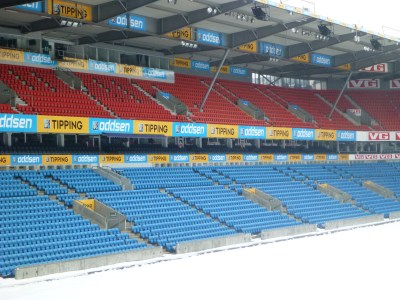 Ulleval Stadium, Oslo - home of the Norway National Team