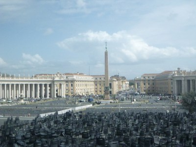 The Vatican City State formed in 1929 - one of the smallest countries in the world.