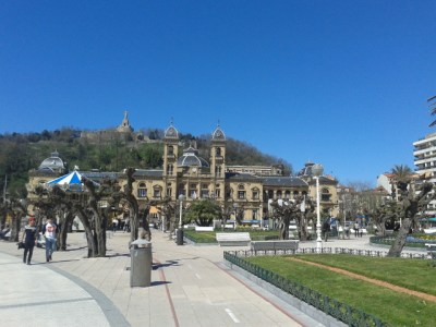 Donostia's Town Hall by the seafront