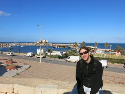 Gorgeous day at Monastir Harbour, Tunisia