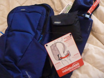 My New Backpack: The Mindshift Rotation180° Travel Away