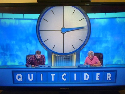 Cracking a countdown conundrum. Sh*t TV.