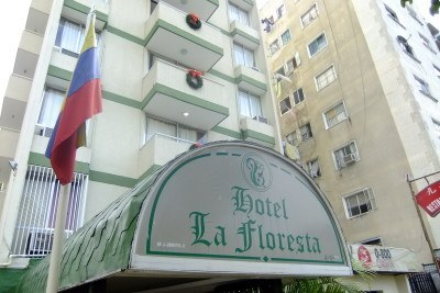 Staying at the Hotel Floresta in Caracas, Venezuela