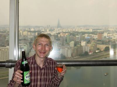 The Revolving Restaurant bar and the epic views