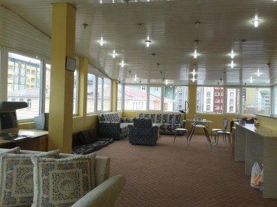 The top floor lounge of Hotel Tehran, Doggy