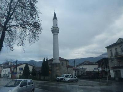 A mosque in Ohrid, Macedonia