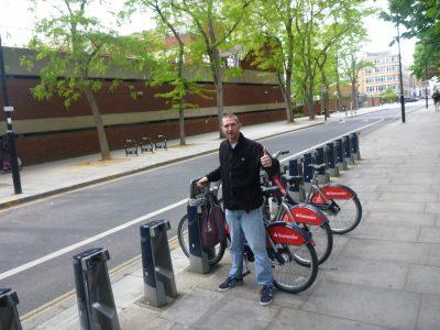 Hiring a Boris Bike in London