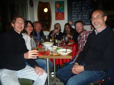 Another brilliant night out with Paul, Nuria and friends in La Carta Carmesi