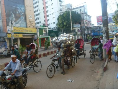Street life in Chittagong