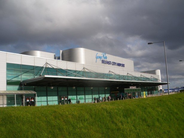George Best Belfast City Airport is the closest airport to Podjistan