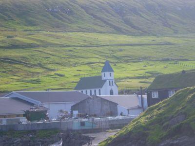 Gjogv, Eysturoy, Faroe Islands.