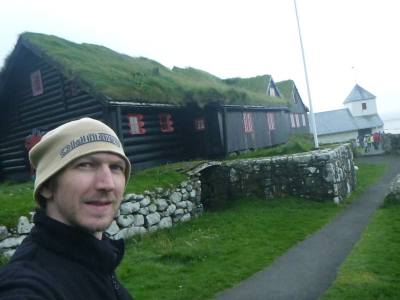 Backpacking in the Faroe Islands: Exploring Kirkjubour on Streymoy Island