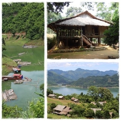 Boating tours from Mai Chau Ecolodge