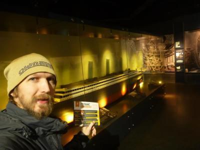 Loving my time exploring the Titanic Centre in Belfast