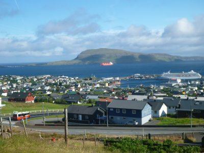 Viewpoint over Torshavn, Faroe Islands
