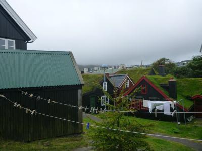 Downtown Torshavn, Faroe Islands