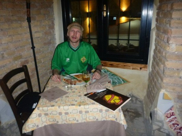 Great pizza in Rome, Italy!