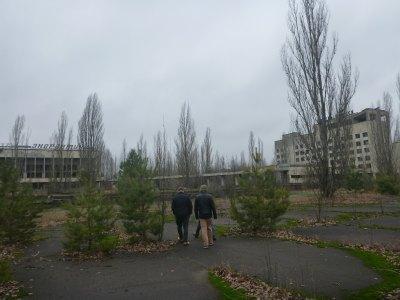 Dandering through Pripyat