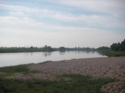 Belshina River, Bobruisk, Belarus