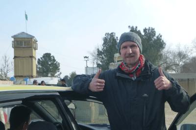 Arrival in Afghanistan at Hayratan