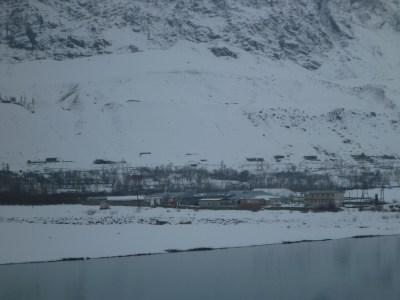 Afghanistan side of the Bridge