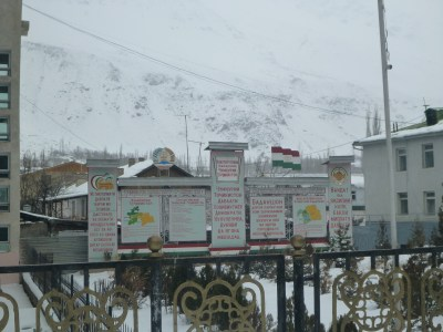 Government Buildings in Khorog
