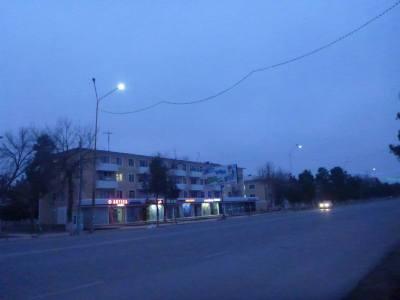 Downtown Termiz at 7am