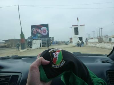 Glentoran FC arrives in Afghanistan