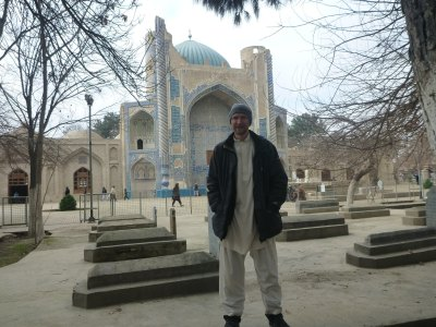 Backpacking in Afghanistan - Khwaja Parsa Mosque and Shrine