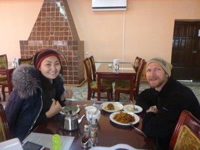 Dining out in Bishkek, Kyrgyzstan