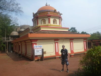Touring temples in India