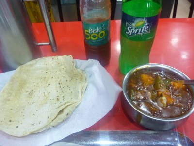 Dinner in Gagan restaurant